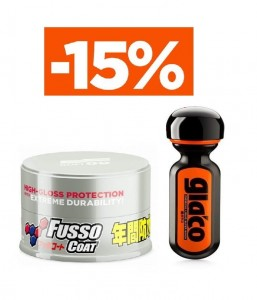 SOFT99 PROTECTION SET - WOSK FUSSO light + ULTRA GLACO