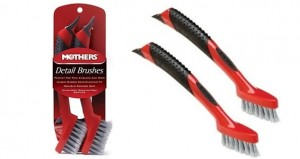 Mothers Detail Brush - Zestaw 2 szt. do detali